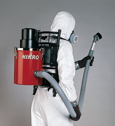 Nikro Backpack Hepa Vacuum Cleaners For Dust Asbestos